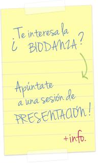 Biodanza Sesiones de presentación